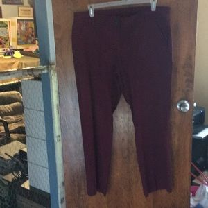 White Stag maroon jeans